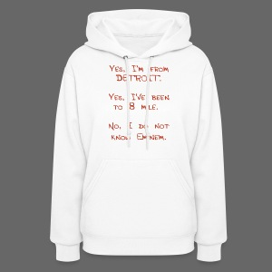 Michigan Word Map - Women's Hoodie