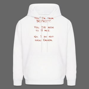 Michigan Word Map - Men's Hoodie