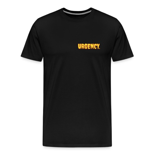 Men's Urgency Lava Chest T-Shirt - Men's Premium T-Shirt