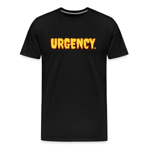 Men's Urgency Lava T-Shirt - Men's Premium T-Shirt