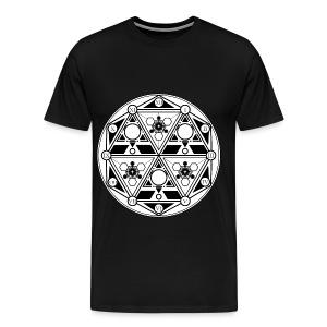 Mancer's Timepiece - Men's Premium T-Shirt