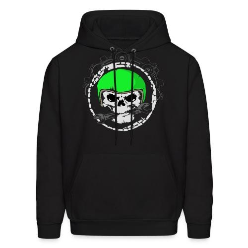 Mech Skull Men's Hoodie  - Men's Hoodie