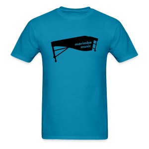Marimba Music 2 outline T-Shirt (Men) - Men's T-Shirt