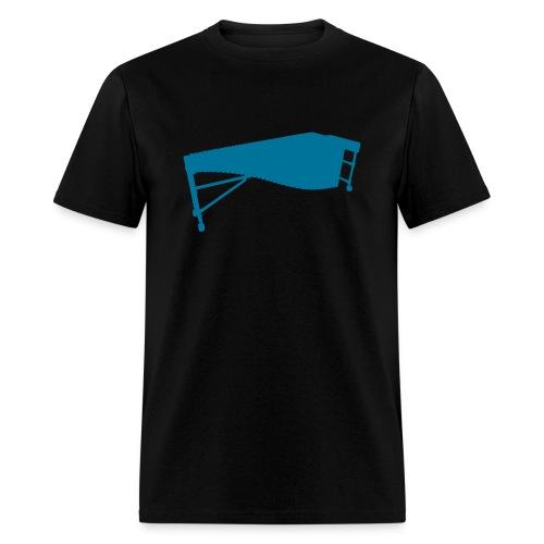 Marimba 2 outline T-Shirt (Men) - Men's T-Shirt