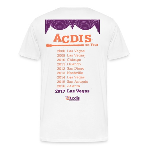 ACDIS On Tour T-Shirt - Men's Premium T-Shirt