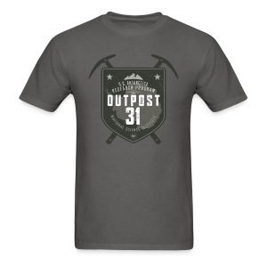 Outpost 31 (aged look) - Men's T-Shirt