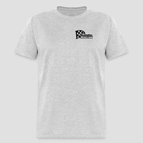 Destination: Victory Lane plain logo T - Men's T-Shirt