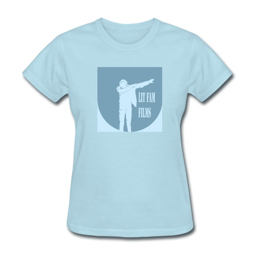 Lit Fam Films logo - Women's T-Shirt