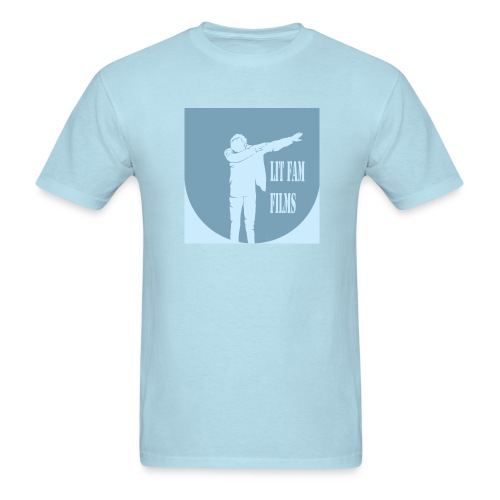 Lit Fam Films logo - Men's T-Shirt