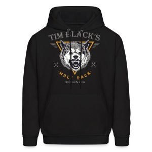 Tim Black's Wolf Pack Women's Growl - Men's Hoodie