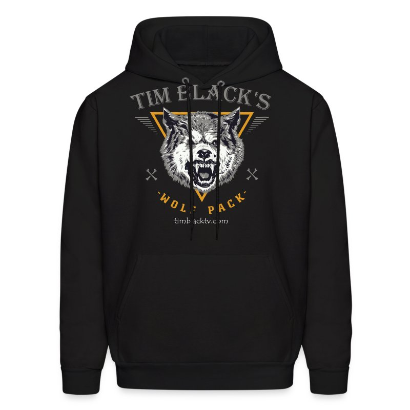 Tim Black's Wolf Pack Women's Growl - Men's Hoodie