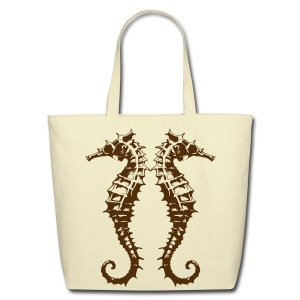 Seahorse Bag - Eco-Friendly Cotton Tote