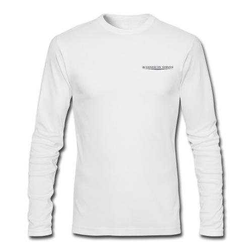 TrueBlue Insignia PerformanceLong Sleeve Shirt Lite - Men's Long Sleeve T-Shirt by Next Level