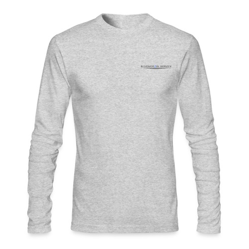 TrueBlue Insignia PerformanceLong Sleeve Shirt Lite - Men's Long Sleeve T-Shirt by Next Level