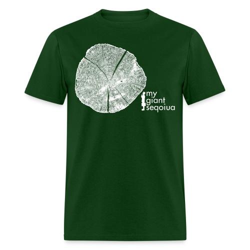 Tree Print - Mens Basic Shirt - Men's T-Shirt