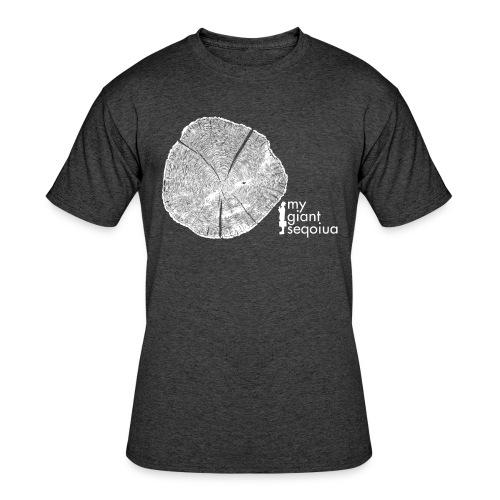 Tree Print - Men's 50/50 Blend - Men's 50/50 T-Shirt