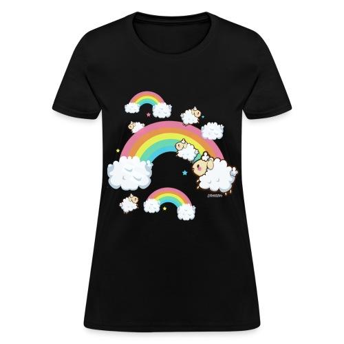 Rainbow Sheep - Women's T-Shirt