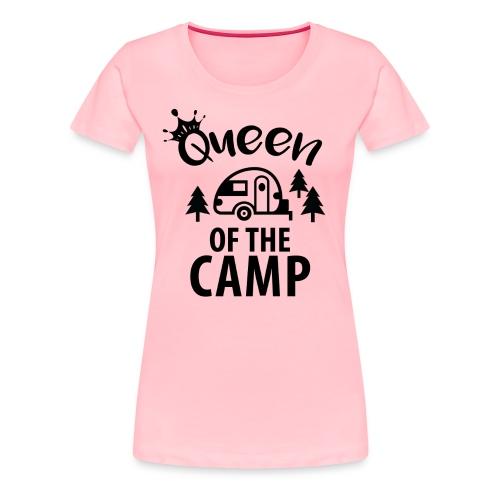 Queen Of The CAMP  - Women's Premium T-Shirt