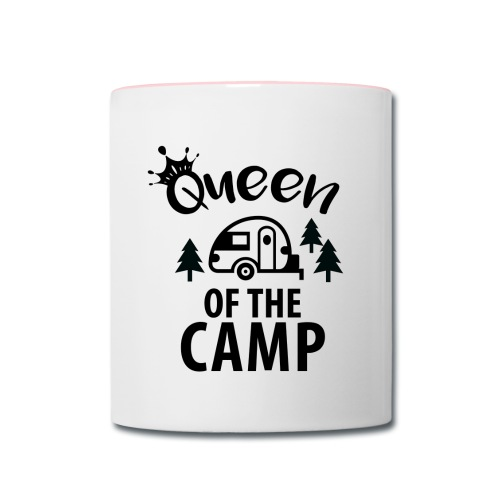 Queen of the camp coffee mug - Contrast Coffee Mug
