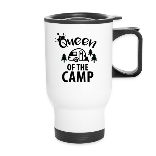 Queen of the camp travel mug - Travel Mug