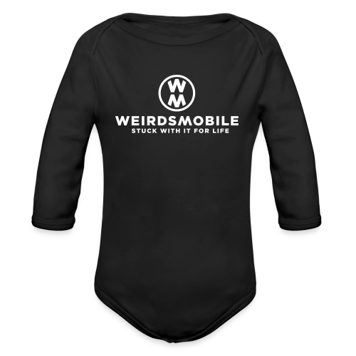 Weirdsmobile - Organic Long Sleeve Baby Bodysuit