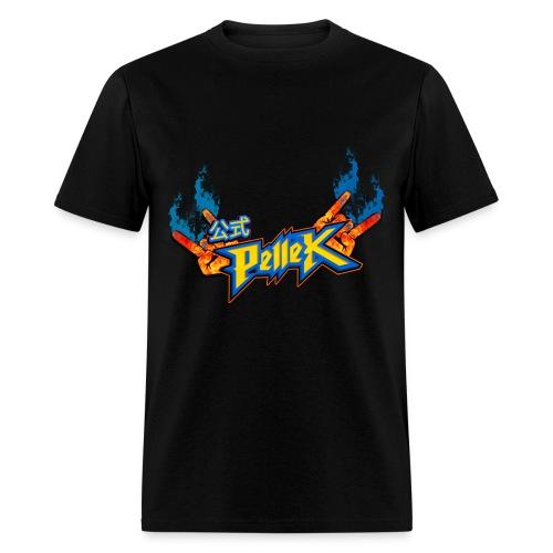T-shirt with PelleK logo - Men's T-Shirt