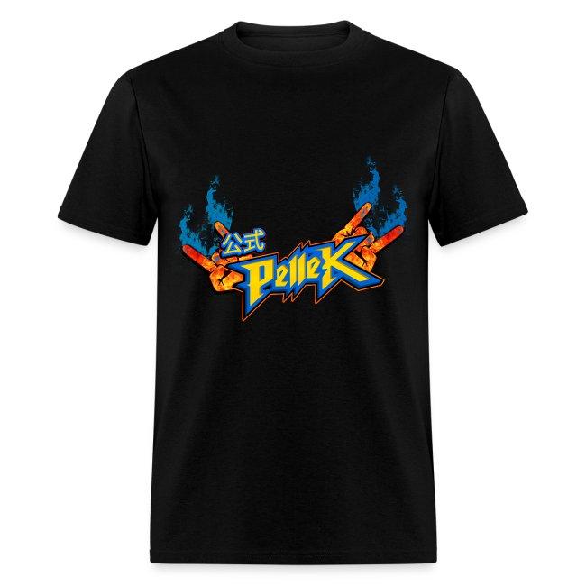 T-shirt with PelleK logo