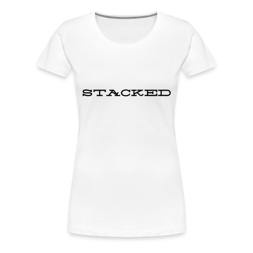 Stacked Tee - Women's Premium T-Shirt