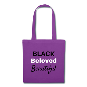 Black Beloved Beautiful - Tote Bag