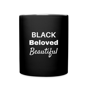 Black Beloved Beautiful - Full Color Mug