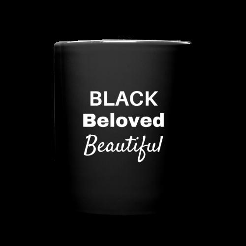 Black Beloved Beautiful - Full Color Mug