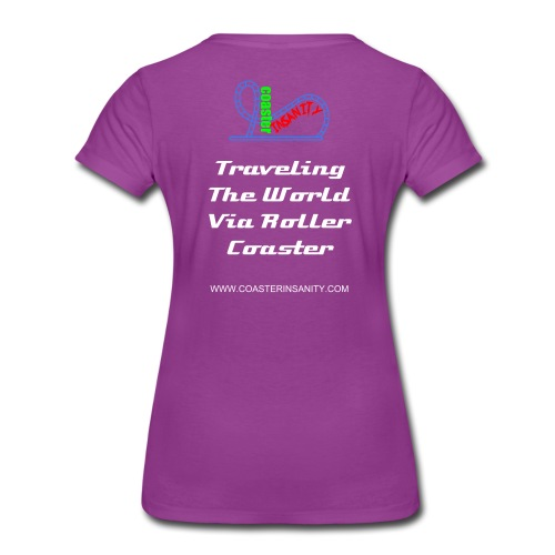 Women's Premium T-Shirt TRAVEL (Multiple Colors Available) - Women's Premium T-Shirt