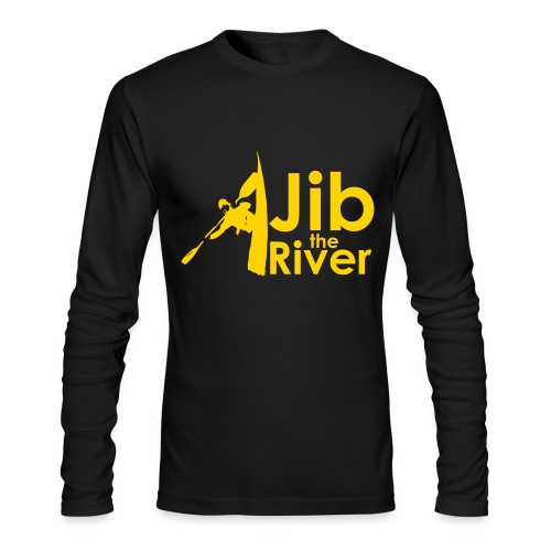 Jib the River - Men's Long Sleeve T-Shirt by Next Level