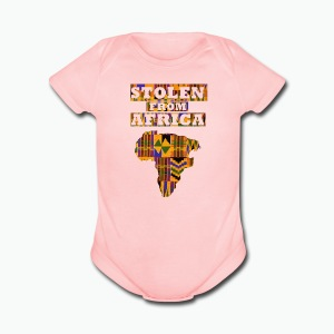 Stolen From Africa Apparel - Short Sleeve Baby Bodysuit
