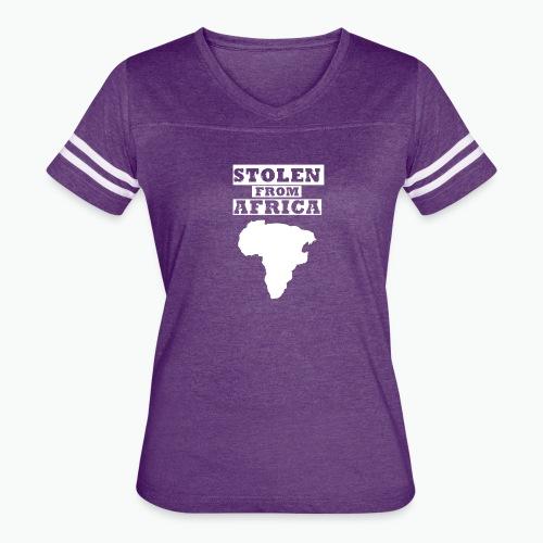 Stolen From Africa Apparel - Women's Vintage Sport T-Shirt