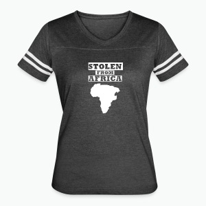 Stolen From Africa Apparel - Women's Vintage Sport T-Shirt