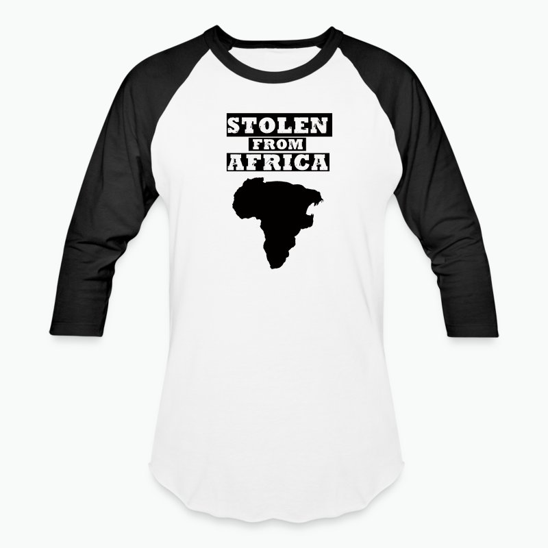STOLEN FROM AFRICA LOGO ® - Baseball T-Shirt