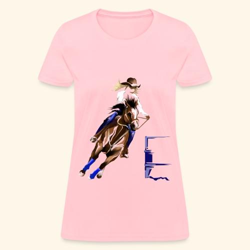 Barrel Racer - Women's T-Shirt