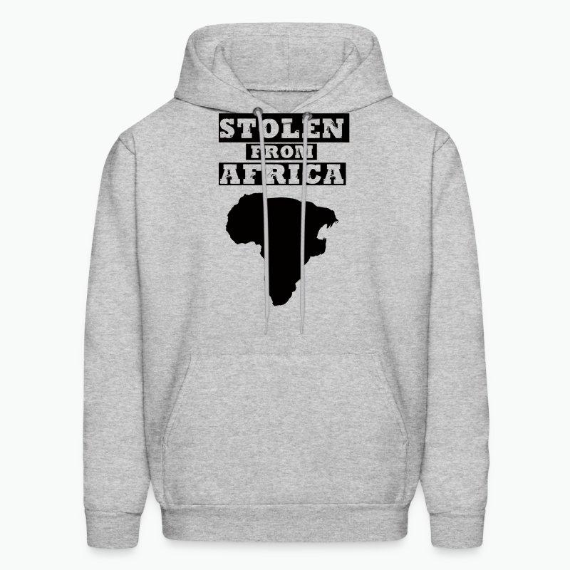 STOLEN FROM AFRICA LOGO ® - Men's Hoodie