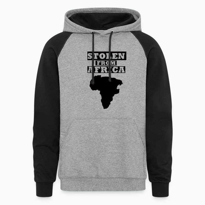 STOLEN FROM AFRICA LOGO ® - Colorblock Hoodie