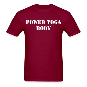 Power Yoga Body Men's T-Shirt - Men's T-Shirt
