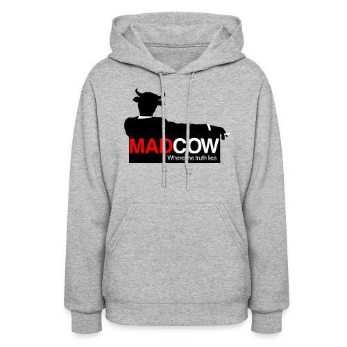 Mad Cow Women's Hoodie - Women's Hoodie