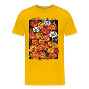 Pumpkin T shirt - Men's Premium T-Shirt