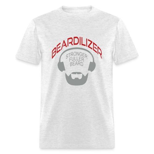 Beard White Large - Men's T-Shirt