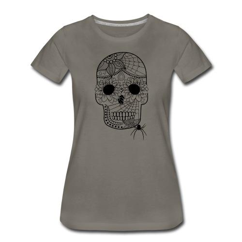 Sugar Skull Women's Premium T-Shirt from South Seas Tees - Women's Premium T-Shirt