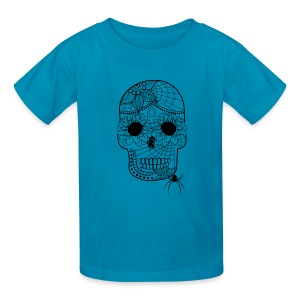 Sugar Skull Kids T-Shirt from South Seas Tees - Kids' T-Shirt