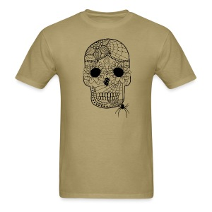 Sugar Skull T-Shirt for men from South Seas Tees - Men's T-Shirt