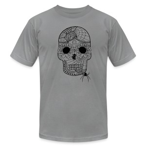 Sugar Skull Men's T-Shirt from South Seas Tees - Men's T-Shirt by American Apparel