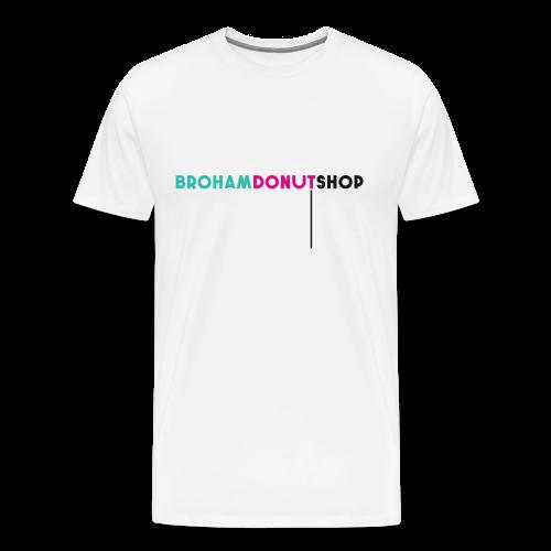 Broham Donut Shop - Men's Premium T-Shirt