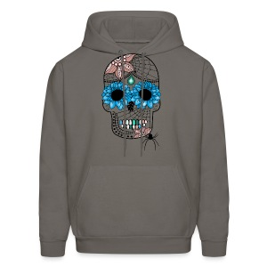 Sugar Skull Men's Hoodie from South Seas Tees - Men's Hoodie
